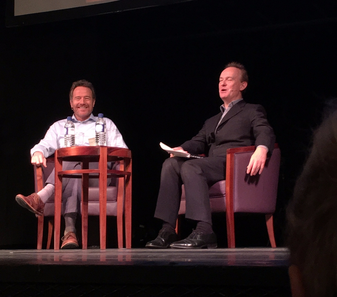 An Evening With Bryan Cranston