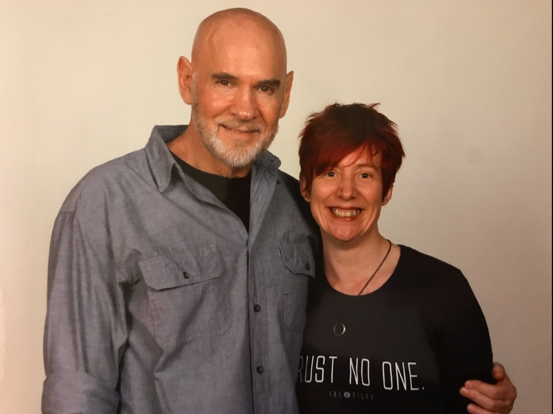 Me with Mitch Pileggi