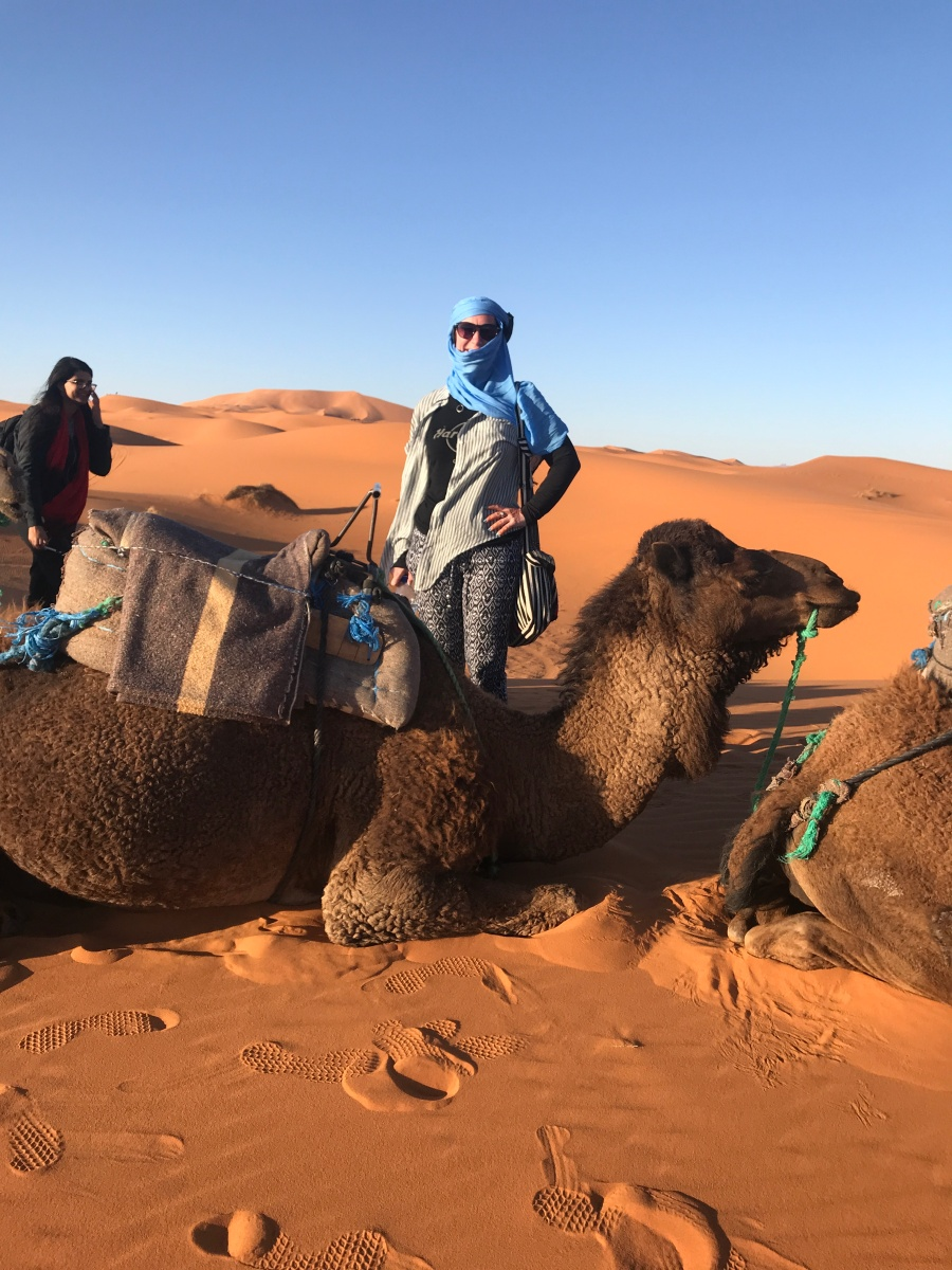 Victor, my camel.